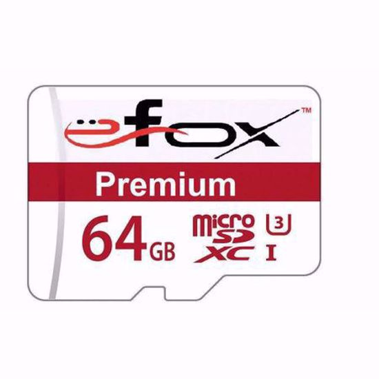 Imagine Card de memorie EFOX micro sd 64Gb Clasa 10 UHS 3