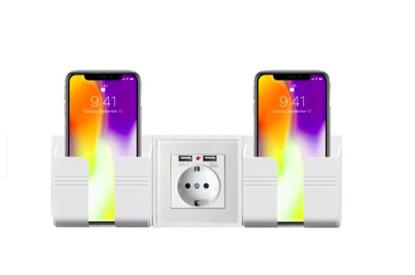Imagine Incarcator priza cu 2 iesiri USB, 5V/2A ,Cu 2sport telefon ,white ,PROMOTIE !!!