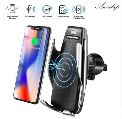 SMART SENSOR Incarcator car Automatic sensor,fast wireless chargers ,UNIVERSAL  iphone 8/ 8+ /X /Xr /Xs / XsMAX, 7,5W samsung ,s8/s8+/s9/s9+/note8/note9 10W + Incarcator fast Auto 2usb 9V/3.1A