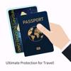 Imagine Card protectie contactless RFID si NFC pentru protejarea cardurilor bancare si pasapoartelor cu cip RFID - Smart -X- pachet cu 3 bucati