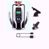 Imagine E-smartgadget , Incarcator Wireless AutoSuport, FAST CHARGE, DELUXE S6 ,7,5w  pentru  iphone 5,6,7  prindere grila ventilatie+Ventuza , +wireless receiver iphone 5,6,7,set 2 buc