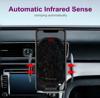 Imagine E-smartgadget , Incarcator Auto Wireless 15W, FAST CHARGE, DELUXE X7 , Smart sensor ,prindere grila ventilatie+Ventuza