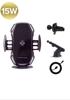 Imagine Suport Wireless Telefon Masina 15W,Original , smart sensor ,Incarcator fast charge