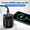 Imagine Incarcator wireless fast charge EFOX, Aluminum Ultra Slim 15W, Black , +Incarcator FAST Chargers 18w /3.0
