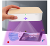 Imagine Cutie de dezinfectare UVC, wireless chargers15W,Sterilizator pentru masti kn95