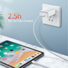 Imagine Set ,Incarcator Fast Charge APPLE  18W pentru iPhone 11pro,11 Pro Max +Cablu de date fast charge 1m Type-C-Lightning