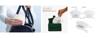 Imagine Set 4 bucati cutii  portabile pentru depozitare si protectie masca Kn95,alb