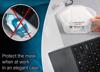 Imagine Set 4 bucati cutii  portabile pentru depozitare si protectie masca Kn95,diverse culori