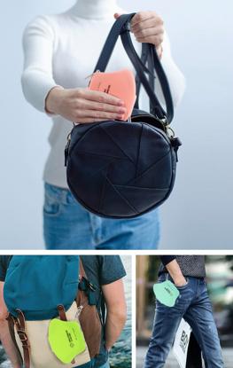 Set 4 bucati cutii  portabile pentru depozitare si protectie masca Kn95,diverse culori