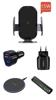 Imagine Set 5 buc : Incarcator car Automatic sensor,fast 15W,wireless chargers universal,  iPhone11,1promax,xs, xsmax ,samsung ,s10, s9 ,note10,9,8