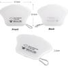 Imagine Set 4 bucati cutii  portabile pentru depozitare si protectie masca , EX-2 Kn95,alb -