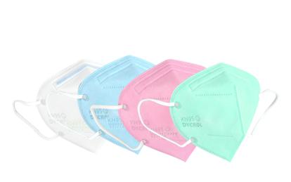 Masca KN95 FFP2 , pentru copii 5-12  ani set 8buc,multicolor,ambalaj individual Plus 1 Buc Cutie Portabile Pentru Depozitare