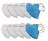 Imagine Masca KN95 FFP2 , pentru copii 5-13  ani set 5 buc,multicolor