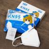 Imagine Set 50  buc masca pentru copii  6-11 ani  KN95 FFP2 alb