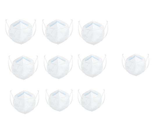 Imagine Masca KN95 , Pentru Copii 5-12 Ani Set 10 buc, alb ,Ambalaj Individual