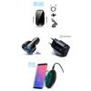 Imagine Set 4 buc : Incarcator car Automatic sensor,15W,fast wireless chargers universal,