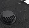 Imagine Set 10 Buc Masca protectie KN95 FFP2 negru valve ,plus 1bucata cutie protectie masti,Plus 1bucata Dispozitive De Prindere, ambalaj individual