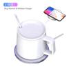 Imagine 2 in1 Incarcator wireless 15W fast charge si  incalzitor de cana wireless ,pentru iPhone 12,12mini,12pro,12promax