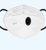 Imagine Set 10 masti de protectie KN95 FFP2 cu Valve negru/alb