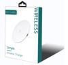 Imagine Incarcator wireless Fast Charge cu incarcare rapida 15W ,e-smartgadget®,alb