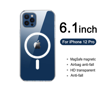 Imagine Husa de protectie  Clear Case MagSafe pentru iPhone 12 Pro