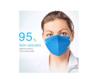 Imagine Masti de Protectie KN95 10 Bucati masca albastru Plus 1 Buc Cutie Portabile Pentru Depozitare